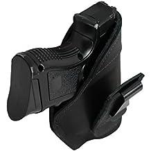 Barsony Holsters & Belts Dimensione 1 Beretta Glock S&W Toro destra nero Fondina in pelle tuckable