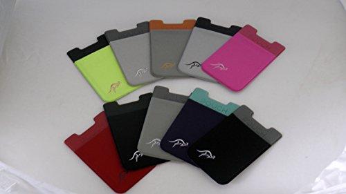 Hochwertiger Stick auf digitalen Brieftasche beimisst jedes Smart Handy oder Fall, mit einem RFID-blockierender Sleeve