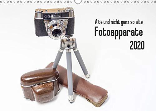 Alte und nicht ganz so alte Fotoapparate (Wandkalender 2020 DIN A3 quer)
