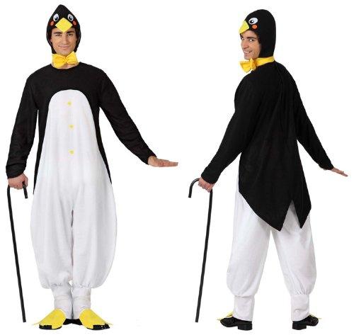 Imagen de atosa  disfraz de pingüino para niño, talla m/l 15689  alternativa