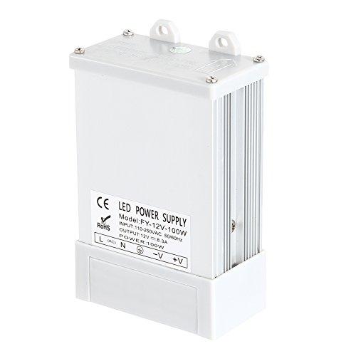 echselstrom im Freien zu DC-konstanter Spannung 12V 100W 8.3A Schaltwandler-Stromversorgung (100w Led Im Freien)