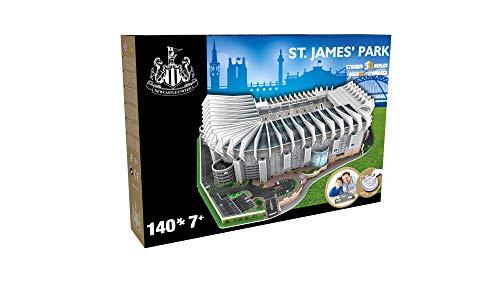 NANOSTAD 3895 Newcastle United St James' Park 3D-Puzzle, Mehrfarbig