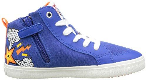 Geox Jr Kiwi C, Sneakers Hautes garçon Multicolore (C4401)