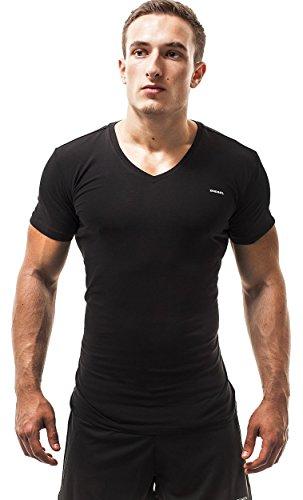 Diesel Herren 3 Pack Shirts Jake (Medium, Schwarz) - Jake Diesel