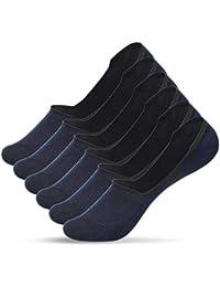 UMIPUBO 10 ou 6 Paires Chaussettes Hommes Invisibles Courtes Sneaker Chaussettes de Coton Anti-Dérapant Sport Comfort