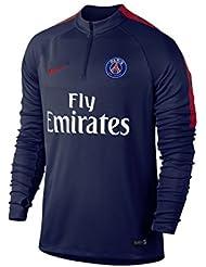 Nike PSG M DRIL TOP SQD - Long-sleeved - T-shirt Paris Saint Germain for Men, Size