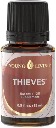 Young Living misto di oli essenziali ladri (Thieves), 15ml