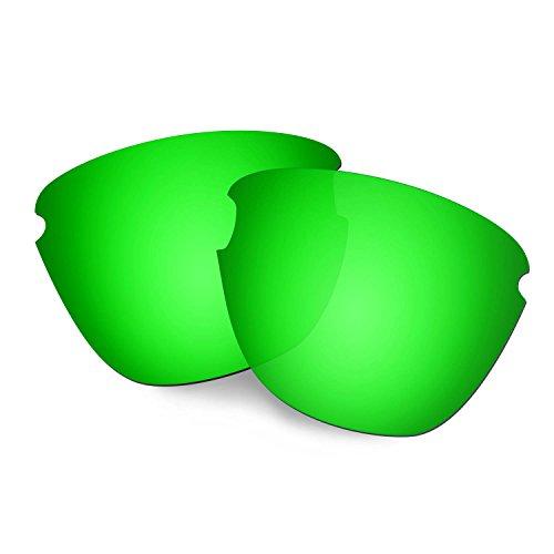 HKUCO Verstärken Ersatz-Brillengläser für Oakley Frogskins Lite Sonnenbrille Grün Polarisiert