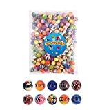 30 X Mixed Colour Jet Bouncy Balls