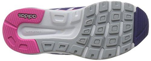 adidas Damen Cloudfoam 8tis W Turnschuhe Blanco (Ftwbla / Puruni / Rosimp)