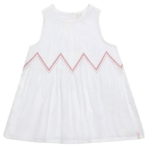 ESPRIT KIDS Baby-Mädchen Kleid RL3008102, Weiß (Off White 110), 68