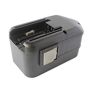 Amsahr MIL-18(A) 18 V 3000 mA NI-MH Replacement Power Tool Battery for Milwaukee 48-11-2200 - Black