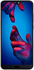 Huawei P20 Smartphone (14,7 cm (5,8 Zoll), 128GB interner Speicher, 4GB RAM, 20 MP Plus 12 MP Leica Dual Kamera, Android 8.1, EMUI 8.1) Schwarz