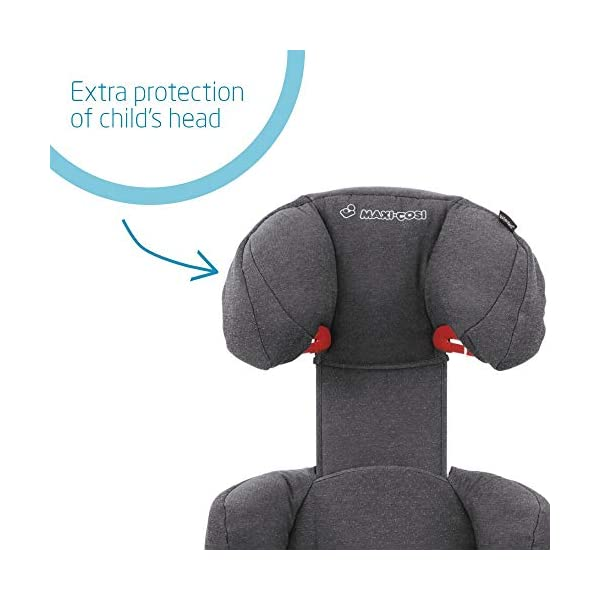 Maxi-Cosi Rodi AirProtect Child Car Seat, Lightweight Highback Booster, 3.5-12 Years, 15-36 kg, Sparkling Grey Maxi-Cosi Child car seat, suitable from 3.5 to 12 years (15-36 kg) Easily install this safe car seat with a three point seat belt and attach the anchorage point in the head rest through your cars head rest Patented AirProtect technology in headrest reduces the risk of head and neck injuries up to 20 percent 4