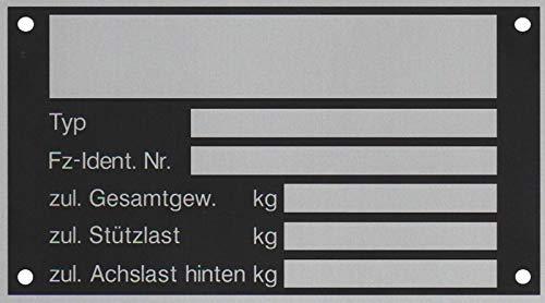 Fiamma Panneau de signalisation arri/ère en Aluminium