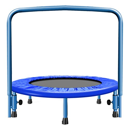 Jumping Trampoline Boden Bungee Sport Trampoline-Fitness-Sprungbett mit verstellbarem Griff für Kinder und Erwachsene Fitnessgeräte Bungee-Sport verlieren wiegen Abnehmen