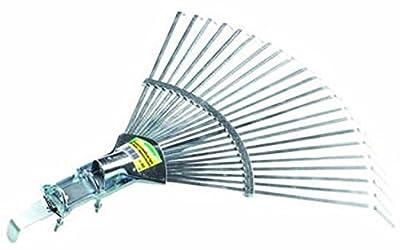 Verdemax 392222Zähne Metall Rechen mit Verbindung zu Terminals für Gras und Blättern