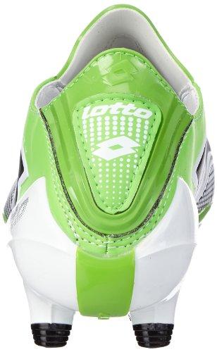Lotto Sport  ZHERO GRAV.III100FG Q7234 Herren Fußballschuhe Schwarz (BLK/MET.N.GREEN)