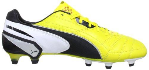 Puma King FG Herren Fußballschuhe Gelb (blazing yellow-black-whit 01)