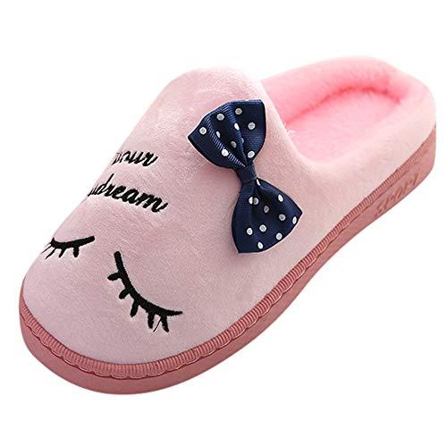 OHQ Zapatos De Dormitorio Mujer Zapatilla De Casa