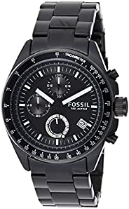 Fossil Mens Quartz Watch, Analog Display and Stainless Steel Strap