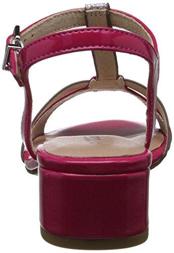 Tamaris Damen 28220 T-Spange Pink (FUXIA/LAVENDER 509)