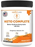 Sapien Body Keto Diet Supplement Orange Mango Flavor Drink Powder