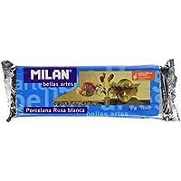 Milan 8411574715009 - Pastilla porcelana rusa 500 g, color blanco