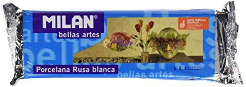 Milan 8411574715009 – Pastilla porcelana rusa 500 g, color blanco
