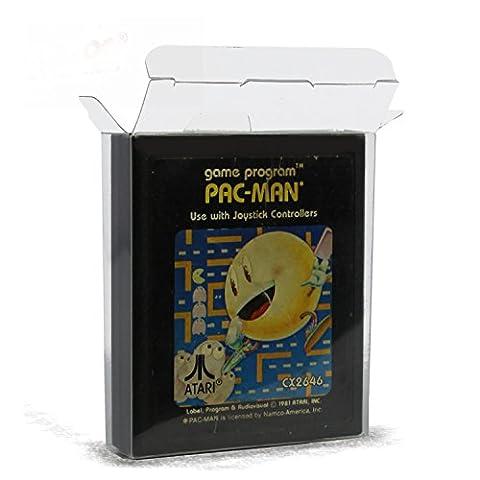 20 Klarsicht Schutzhüllen ATARI 2600/7900 MODUL [20 x 0,3MM ATARI