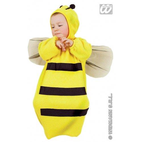 Kinder-Kostüm-Set Kleine Biene, Größe 104/110 (3-4 Jahre) (Biene Kostüm Kind Größe)