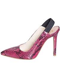 9c753b77b0 Amazon.it: tronchetti donna con tacco - Scarpe col tacco / Scarpe da ...