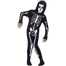 Amazon.it  costume scheletro 75537aa4bf4