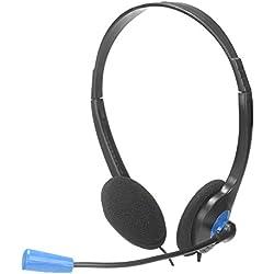 [Cable] NGS MS 103 - Auriculares de diadema abiertos (con micrófono)