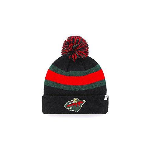 47 Brand NHL Minnesota Wild Breakaway Cuff Knit Beany Hat One Size Mütze Forty Seven