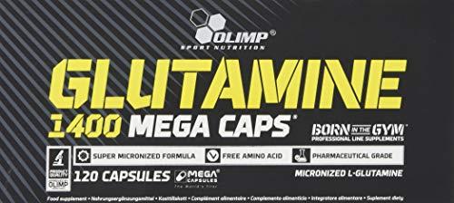 Olimp L-Glutamine 1400 Mega Caps | 120 Kapseln