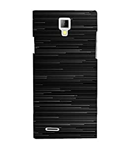 PrintVisa Lines Pattern 3D Hard Polycarbonate Designer Back Case Cover for Micromax Canvas Xpress A99
