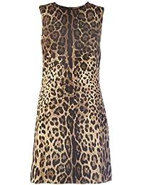 6f70e5d8e43189 Dolce E Gabbana Femme F6D2MTFSRKIHY13M Marron Viscose Robe