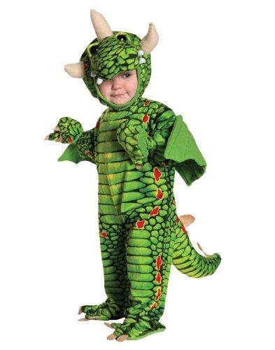Dragon Drache Kinder Baby Kostüm Fasching Karnevall Junge gift grün (Baby Kostüme Drachen)