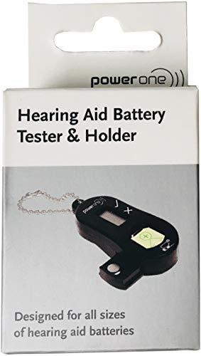 Varta Power One Batterietester für Hörgerätebatterien - mit Aufbewahrungsbox Batteriebox