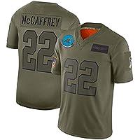 DGSFES Rugby Super Bowl Jersey Carolina Panthers 22# 59# Fútbol Jersey Ropa Deportiva Camiseta de Manga Corta Camiseta deportiva-22-XXXL