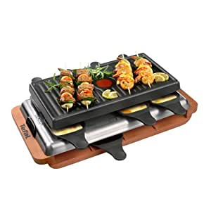 tefal re 6000 raclette grill ovation. Black Bedroom Furniture Sets. Home Design Ideas
