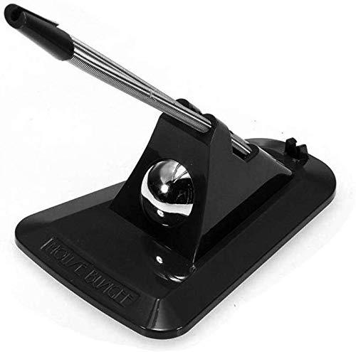Weikeya Kabel Halter für Maus USB Hub Cardreader, Flexible Maus Bungee Maus Kabel Management Fixiermittel Halter, Schwarz