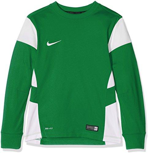 Nike Long Sleeve Top Yth Academy14 Midlayer Pine Green/White
