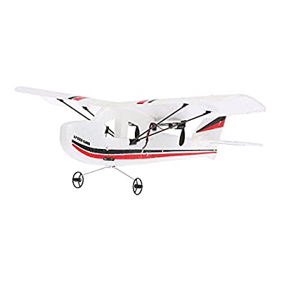 GoolRC Mini Remote Control Airplane RTF RC Aircraft Drone with 2.4G 2CH Control RC Flying Aircraft for Indoors/Outdoors Flight Toys