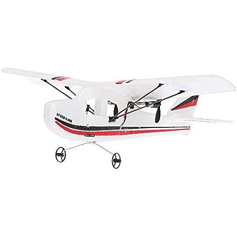 Goolsky TW-781 RC Avión Mini Cessna 2.4G 2CH 200mm Envergadura EPP Control Remoto Infrarrojo RTF