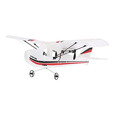 GoolRC Mini Remote Control Airplane RTF RC Aircraft Drone with 2.4G 2CH Control RC Flying Aircraft for Indoors/Outdoors Flight