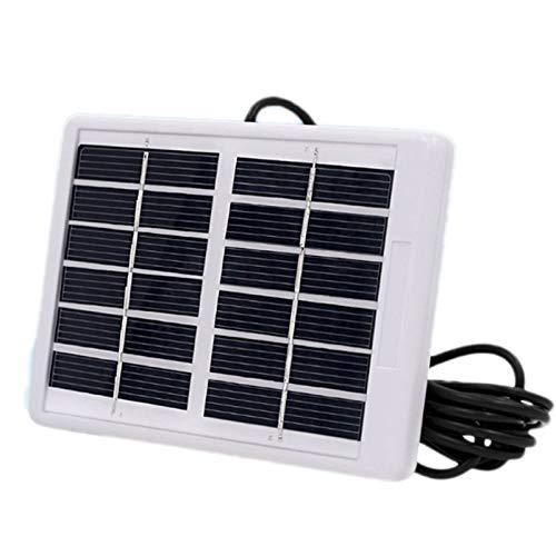 TOOGOO 6V 1.2W Panel solar policristalino Modulo de celda solar Cargador resistente al agua Durdable para luz de emergencia de Camping