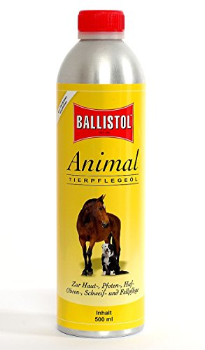 Jehn Ballistol-Animal, 500ml Kanister Tierpflegeöl, transparent,
