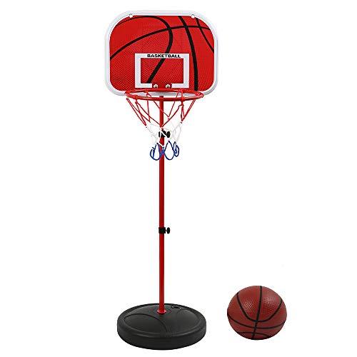 SURFMALL Einstellbare Basketballständer, Basketballkorb mit Ständer Höhenverstellbar